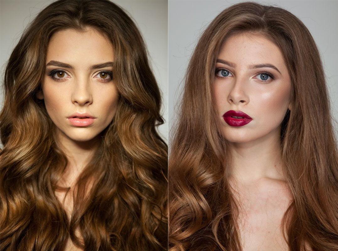 Фотоконкурс «Салонный макияж «до и после»