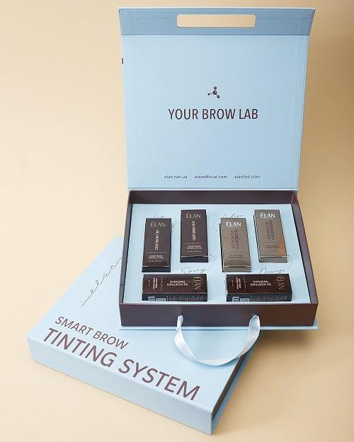 Новая авторская услуга моделирования и окрашивания бровей SMART BROW TINTING SYSTEM by ELAN